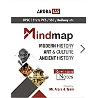 History MIND MAPS (Modern History,Art & Culture And Ancient History)(Revision Notes) UPSC,IAS,MPPCS,GPSC,WBPSC,RAS,MPSC,OPSC,APPSC,KPSC,TNPSC, NET-JRF Exam) (2020-2021 Session)