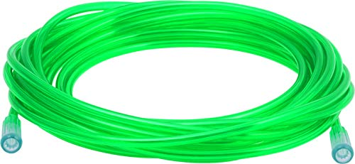(Oxygen Tubing - Premium Green Crush Resistant Oxygen Tubes - 25 Foot - Pack of 3 Tubes)