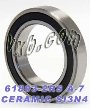 Deep Groove Ball Bearing Size VXB Brand S6803-2RS Hybrid Ceramic Ball Bearing Rubber Sealed 17x26x5 Metric Bearing Type 17mm x 26mm x 5mm Bearing Inner Diameter 17mm