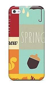 New Arrival CdpUmYJ3554skAzP Premium Iphone 5c Case(autumn The New Spring)