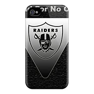 Durable Hard Cell-phone Cases For Iphone 6 (WbH12648zEGP) Customized High Resolution Oakland Raiders Pattern
