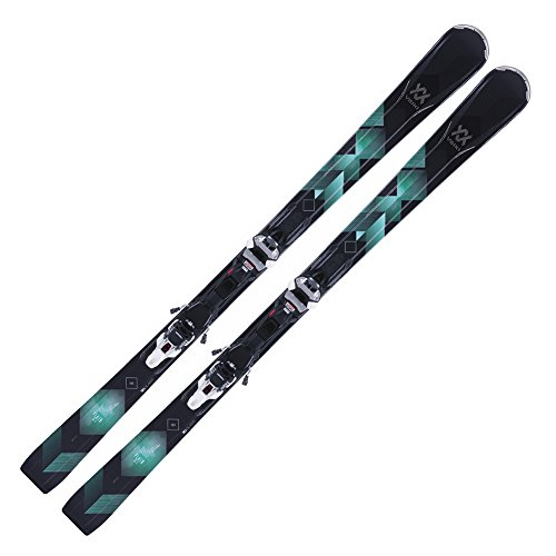 Volkl 2018 Flair 81 Women's Skis w/IPT WR XL 11.0 TCX Bindings - 163 (Best Volkl All Mountain Skis)