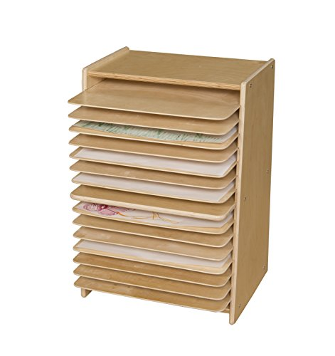 Art Storage Racks (Contender C990647F Mobile Drying and Storage Rack, Fully Assembled)