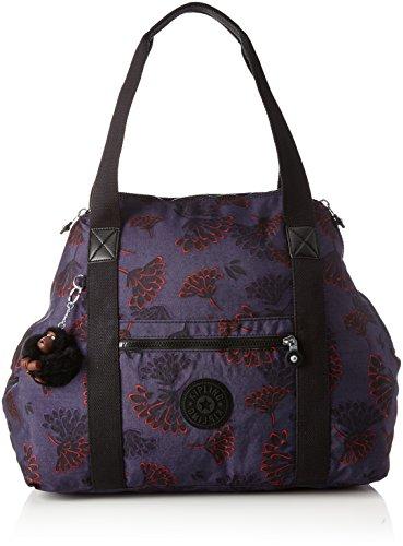 liters Kipling Floral Multicolore Noir 26 Black Dazz cm Art Noir Night Sac de M plage 58 rOxHrq684w
