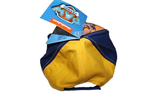 nickelodeon-casquette pat patrouille-orange bleu jaune-garçon