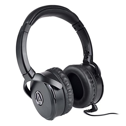Audio-Technica QuietPoint ATH-ANC50IS Active Noise-Cancellin