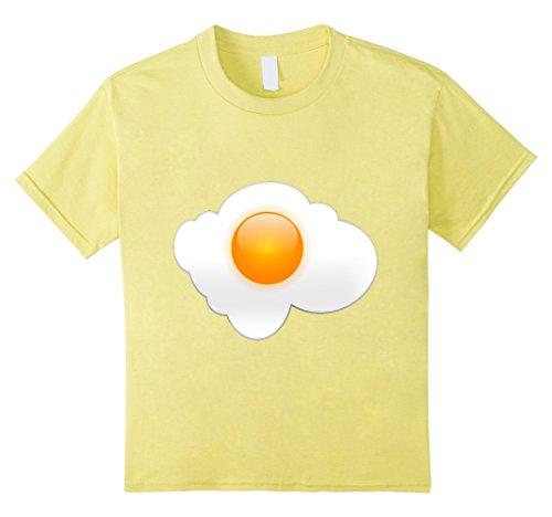 Kids Sunny Side Up Fried Egg T-Shirt Favorite Breakfast F...