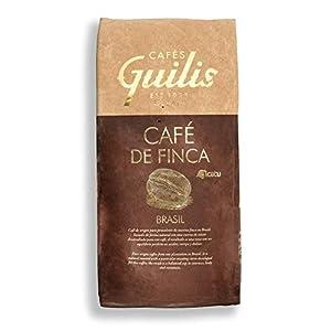 CAFES GUILIS DESDE 1928 AMANTES DEL CAFÉ - Caffè Brasiliano in Grani Arabica Finca Naturale Icatu Minas Gerais 1 Kg