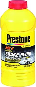 Prestone AS800Y DOT 4 Synthetic Brake Fluid - 12 oz.