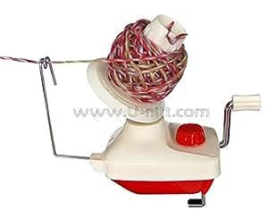 compact 4 oz wool / yarn ball winder TH700B: works with U-nitt swift