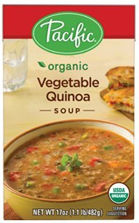 Pacific Foods Organic Vegetable Quinoa Soup, 17 Ounce (Pack of 12) ()