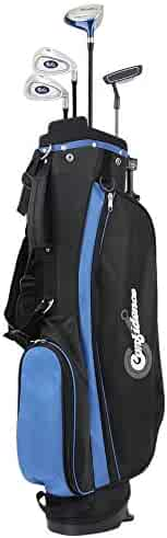 Confidence Junior V2 Golf Club Set with Stand Bag (for Kids Ages 4-7 Years (2019), Right)