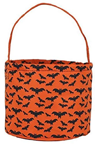 Jolly Jon Halloween Trick or Treat Bags - Kids Candy Bucket Tote -