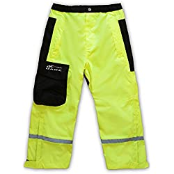 Grundens KWWTHV Unisex GAGE Weather Watch Juniors Pants, Hi-Vis Yellow - 8