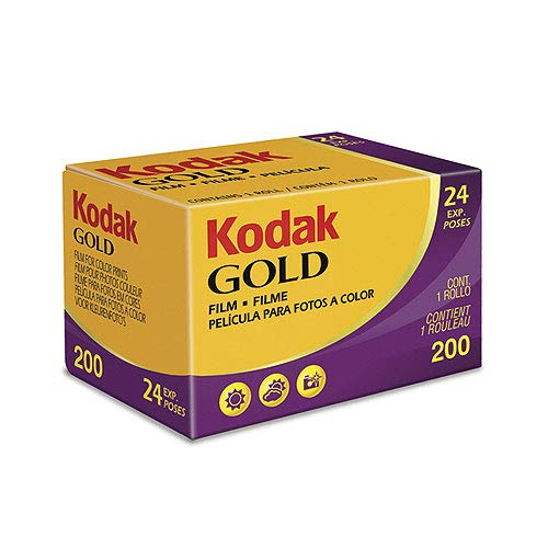 Kodak 603 3955 Gold 200 Color 35mm Negative Film (ISO 200) 24-Exposures