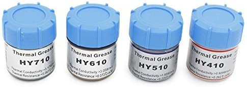 Silicone Compound 0.925W//m-k HY410 5 x White Heat Thermal Grease Paste