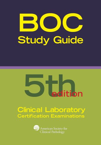 Board of Certification Study Guide for Clinical Laboratory Certification Examinations, 5th Edition (BOR Study Guides)