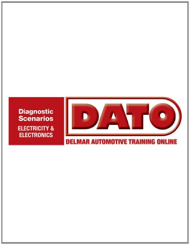 Dato  Diagnostic Scenarios For Electricity Electronics    Cengage Learning Hosted Printed Access Card  Automotive Multimedia Solutions