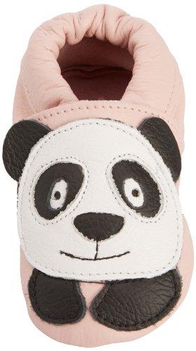 Shoo Shoo Panda P - Zapatos primeros pasos de cuero para niña rosa rosa - rosa