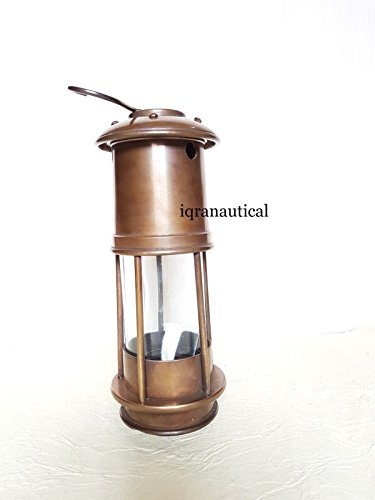 Royalexports Minor Oil Lamp Antique Brass ~ Nautical Maritime Ship Lantern ~ Boat Light by Royalexports