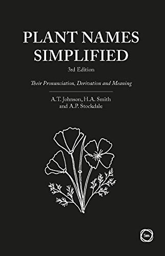 Plant Names Simplified: Their Pronunciation, Derivation and Meaning (3rd Edition)