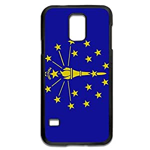 Samsung Galaxy S5 Cases Flag USA Indiana State Design Hard Back Cover Shell Desgined By RRG2G by icecream design