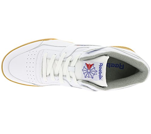 Reebok Workout Plus R12 Gum Pack, white/reebok royal/flat grey white/reebok royal/flat grey