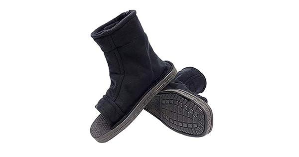 Amazon.com: Zapatillas unisex negras de Ninja [US 5 - US 11 ...
