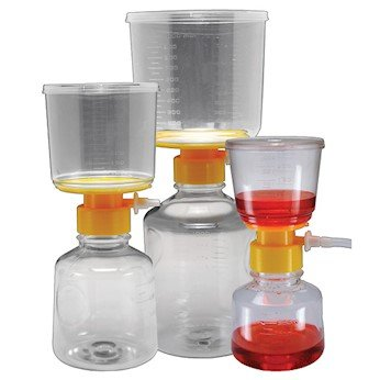 Argos Technologies Disposable Bottle Top Aspirator, PVDF membrane, 0.45um, 500 mL, 12/CS by Argos Technologies