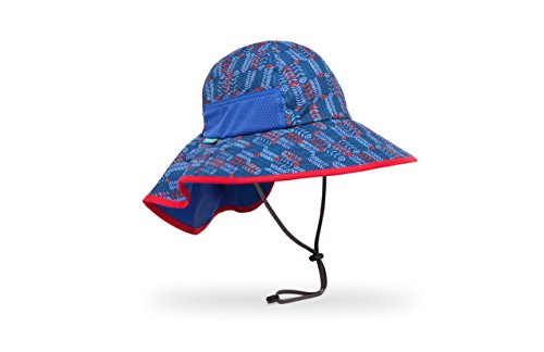 Face Happy Cap (Sunday Afternoons Kids Play Hat, Blue Arrow/Royal, Large)