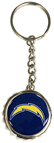 Pro Specialties Group NFL San Diego Chargers Bottle Cap Keychain, Blue, One Size (Ring San Key Diego Chargers)