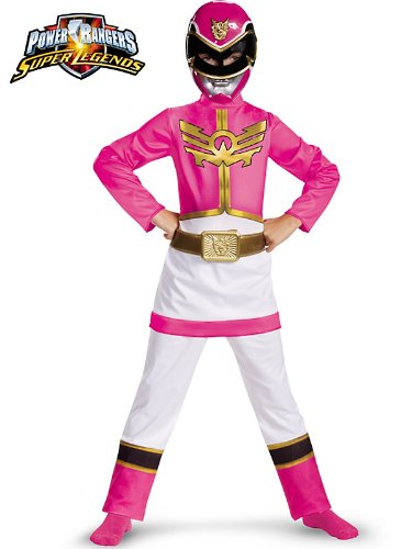 Power Rangers Pink Ranger Megaforce Classic Kids Costume