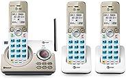 AT&T - Teléfono inalámbrico expansible con conexión Bluetooth a la c