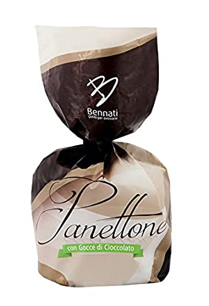 PANETTONE AUTÉNTICO BENNATI con chispas de chocolate 100 ...