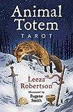 Fortune Telling Tarot Cards Animal Totem tarot deck & book by Leeza Robertson