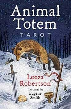 Fortune Telling Tarot Cards Animal Totem tarot deck & book by Leeza Robertson