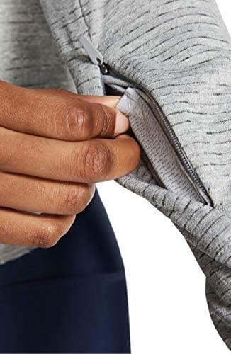 レディース パーカー・スウェットシャツ Nike Sphere Element Half Zip Running Pul [並行輸入品]