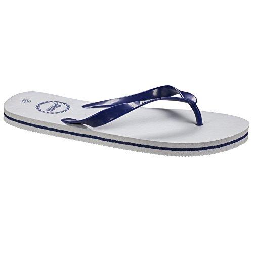 Infradito Penn Unisex Bianco / Blu Scuro