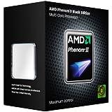 AMD Phenom II X4 960T Processor, Black Edition, 3.0/3.4 Turbo GHz Socket AM3 - HD96ZTWFGRBOX