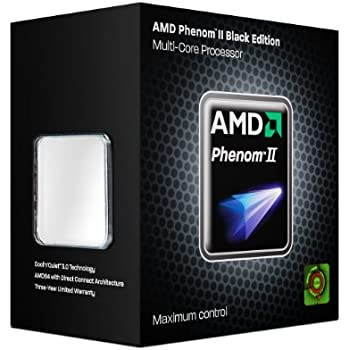 AMD CPU HDZ955FBGMBOX Phenom II X4 955 Black Edition 3.2GHz AM3 125W Retail