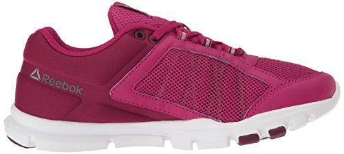 Wht Slvr Cross Wine Wht Trainer Wine Cherry Red Cherry Trainette Slvr Women's Reebok Shoe Yourflex Multi wqZv4wpH