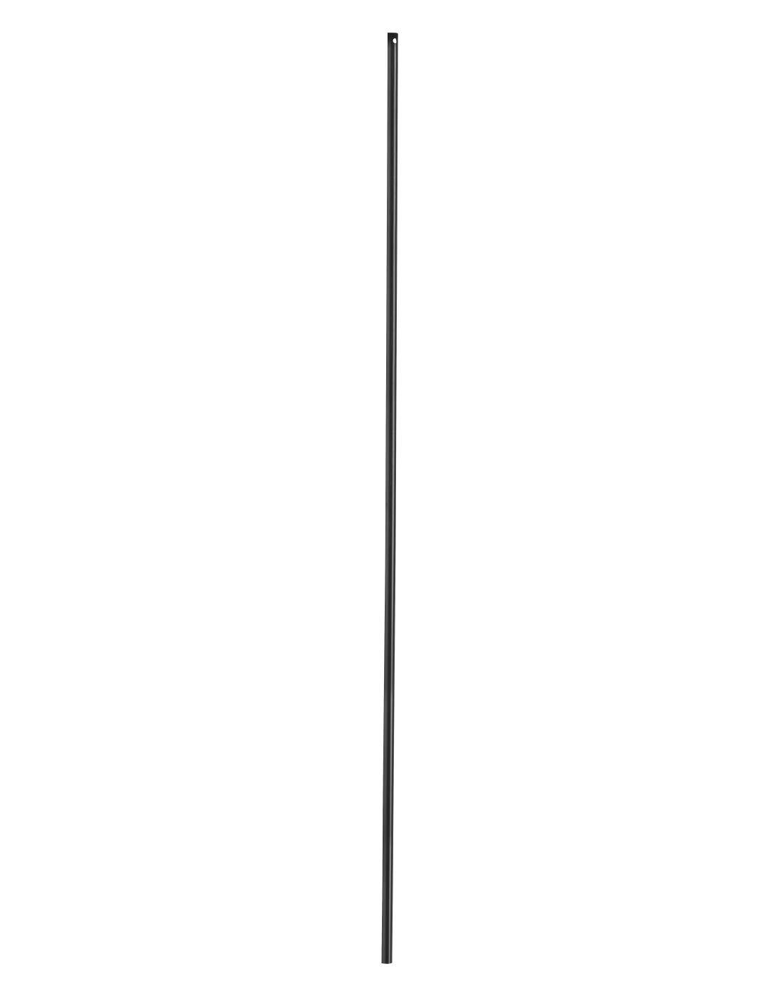color negro para crem/ón Barra de 1,15 m 16 x 5 mm para ventanas Thirard
