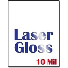 Heavyweight Laser Gloss Cardstock (Single Sided Gloss) - 50 Sheets