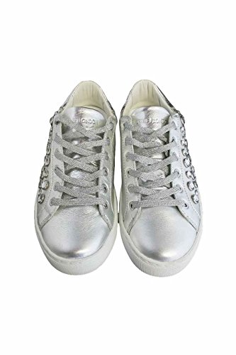 Crime Women's Trainers 25 Silver F5sj3i