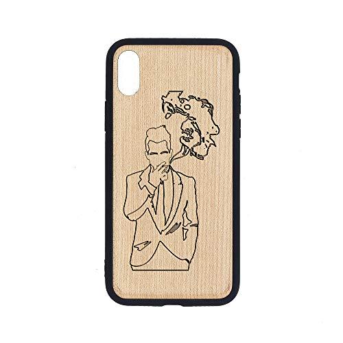 - Brendon Urie TWTLTRTD Album Cover - iPhone Xs Case - Maple Premium Slim & Lightweight Traveler Wooden Protective Phone Case - Unique, Stylish & Eco-Friendly - Designed for iPhone Xs