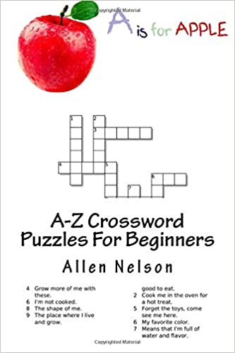 A-Z Crossword Puzzles For Beginners: An easy and enjoyable