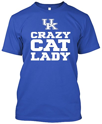 Kentucky Wildcats Crazy Cat Lady Tshirt 414eDNInnOL