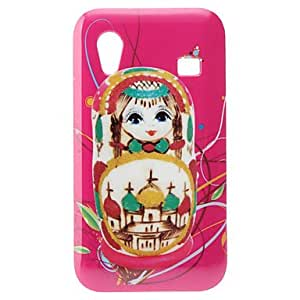 Cartoon Girl Pattern Hard Case for Samsung Galaxy Ace S5830