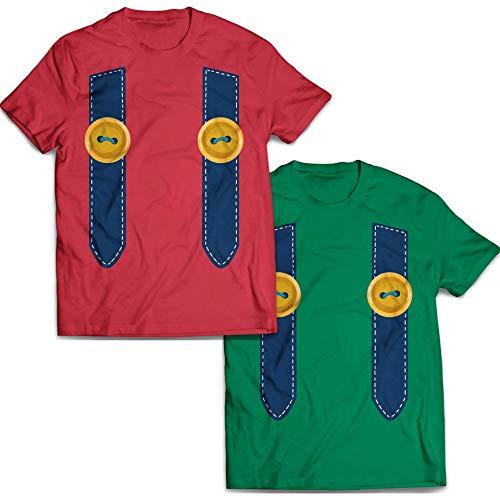 Super Mushroom Game Costume Matching Couple Set Outfit Customized Handmade T-Shirt Hoodie/Long Sleeve/Tank Top/Sweatshirt -