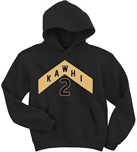 Black Toronto Kawhi The North Jersey Logo Hooded Sweatshirt ()